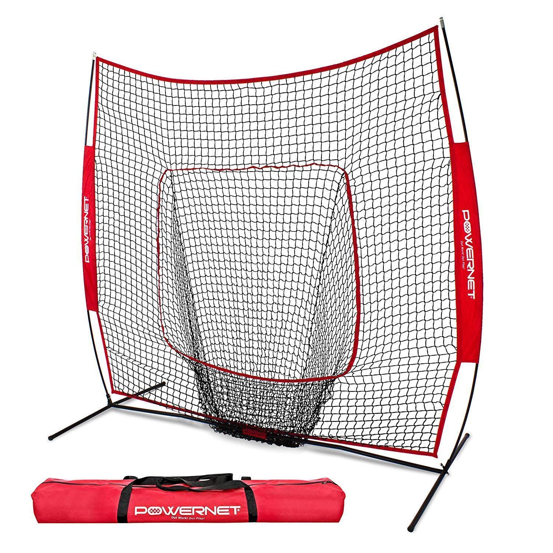 Baseball Softball Hitting Net PowerNet 7x7 for Batting Practice   Team colors