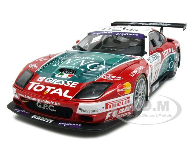 Ferrari 575 GTC le falta Spa Francochamps 2018 11 1/18 Diecast Modelo Coche por Kyosho 08393
