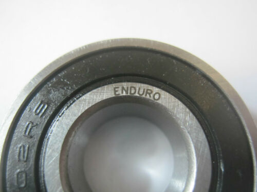 New ENDURO No Box 6202RS C3 Ball Bearing 6202 15X35X11mm