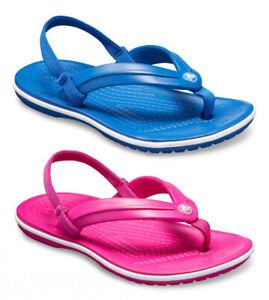 CROCS-CROCBAND-STRAP-FLIP-K-scarpe-infradito-sandali-ciabatte-bambino-bambina