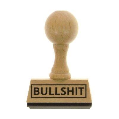 Stempel Bürostempel Bullshit Holzstempel Büro Bull Shit Formulare