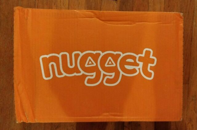 Nugget Comfort Kids Couch COVER SET Koala Calm Cool Gray ...
