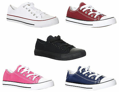 Classic Chuck Taylor Inspired Low Top Unisex Trainers Womens Men Shoes Sneakers