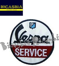 8856 - TOPPA RICAMATA VESPA SERVICE DIAMETRO 74 MM ABBIGLIAMENTO