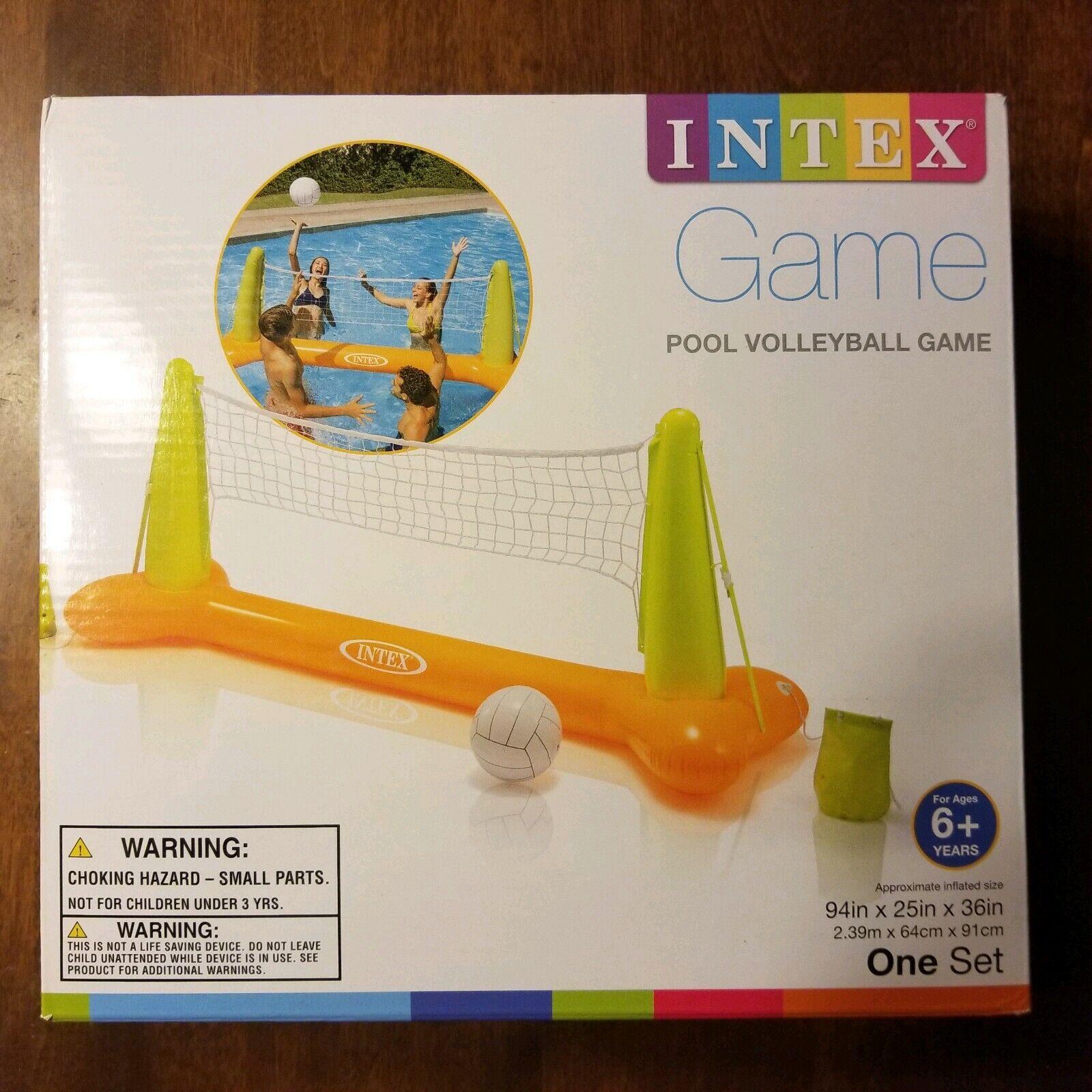 Piscina Intex Voleibol Juego Inflable