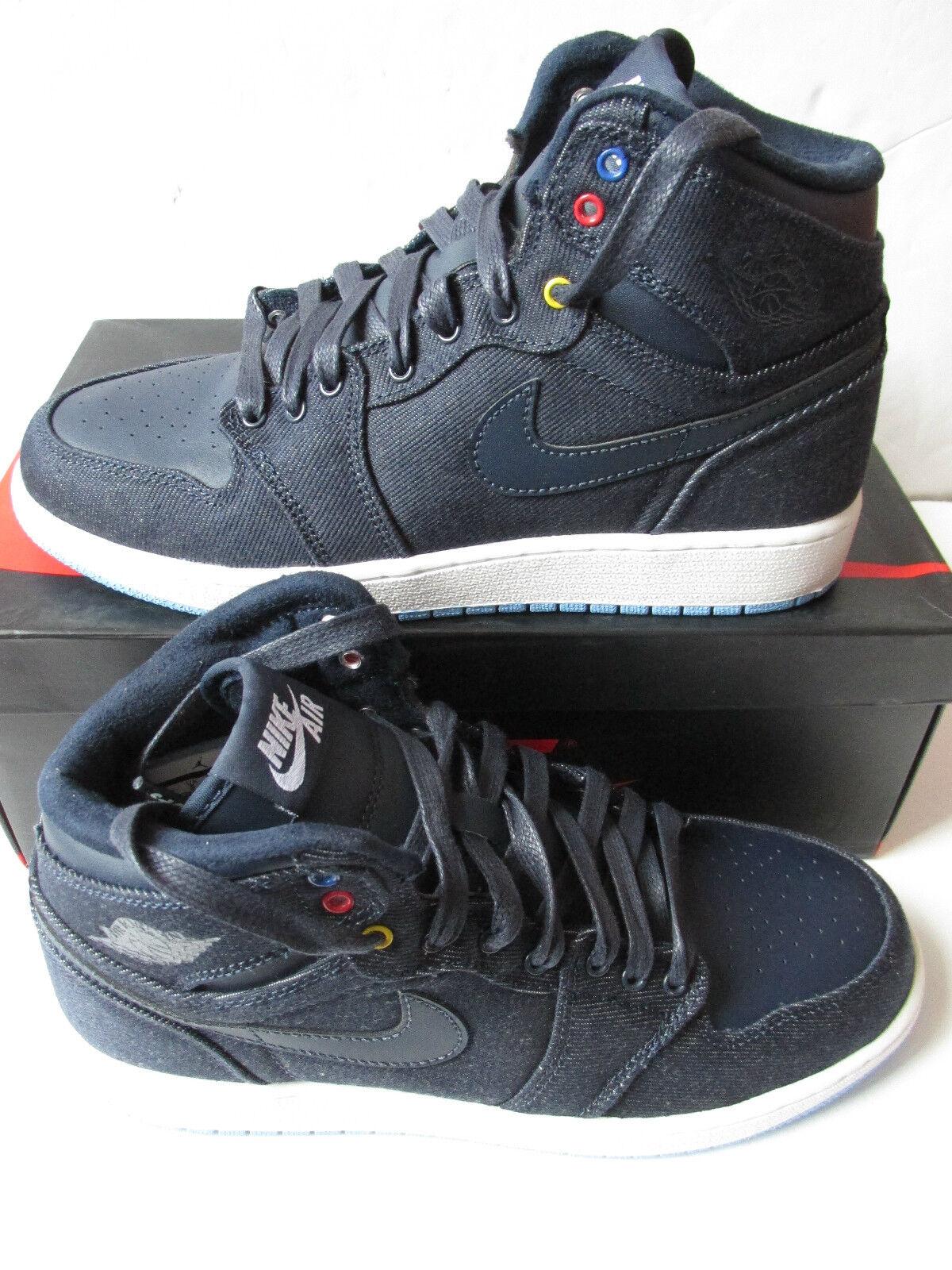 cd1eca43f0 Nike air jordan 1 retro high BG hi top trainers 682782 415 sneakers shoes