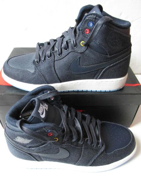 b9911123e9d76 nike air jordan 1 retro high BG hi top trainers 682782 415 sneakers shoes