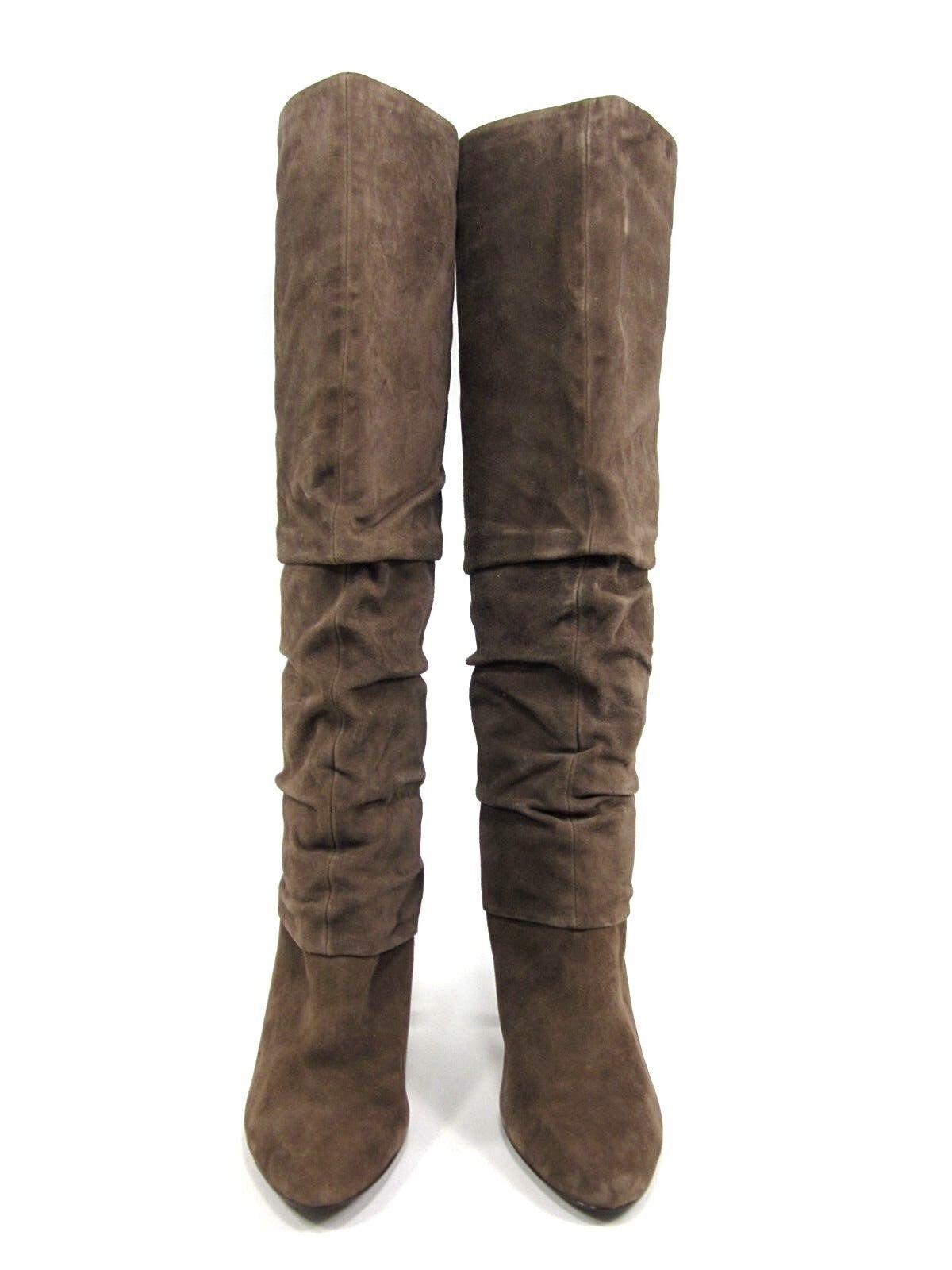 Isola para mujer Ante Mocha, Marrón Ante mujer gris, US tamaño 9.5, media, NUEVO exhibido sin Caja a47c84