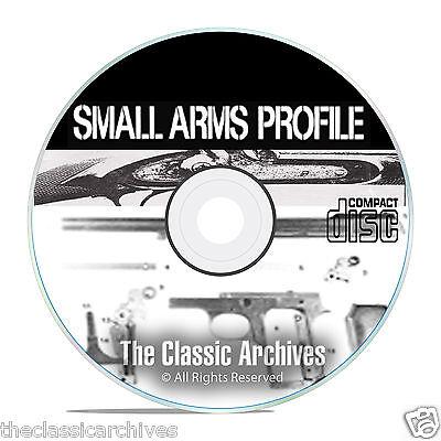 Profile Publications Small Arms - 22 Volumes - Antique Gun History CD DVD B55