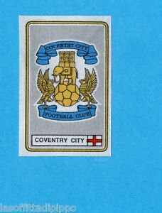 INGHILTERRA-FOOTBALL 79-PANINI-Figurina n.109- SCUDETTO/BADGE-COVENTRY CITY-Rec