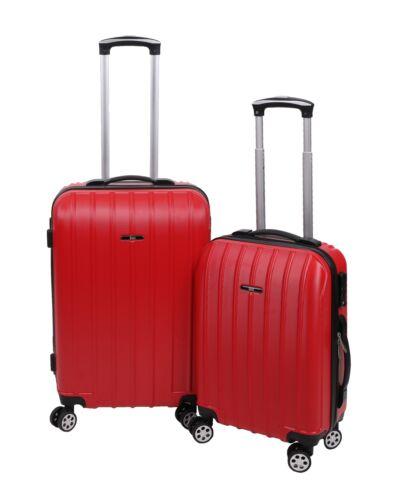 BETZ 2 pièces Coque Rigide Valises 1 bagages à main Boardcase 1 valise de voyage