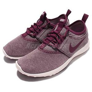 Nike Canvas Shoes Womens Maroon