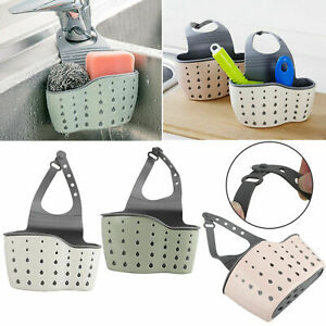 Drain-Rack-Storage-Sponge-Bathroom-Soap-Shelf-Kitchen-Sink-Faucet-Cloth-Holder