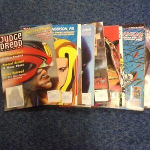 16 X Issues Of Judge Dredd Megazine 1994-95,