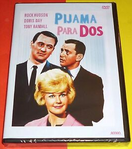 PIJAMA-PARA-DOS-Lover-Come-Back-Rock-Hudson-amp-Doris-Day-Precintada