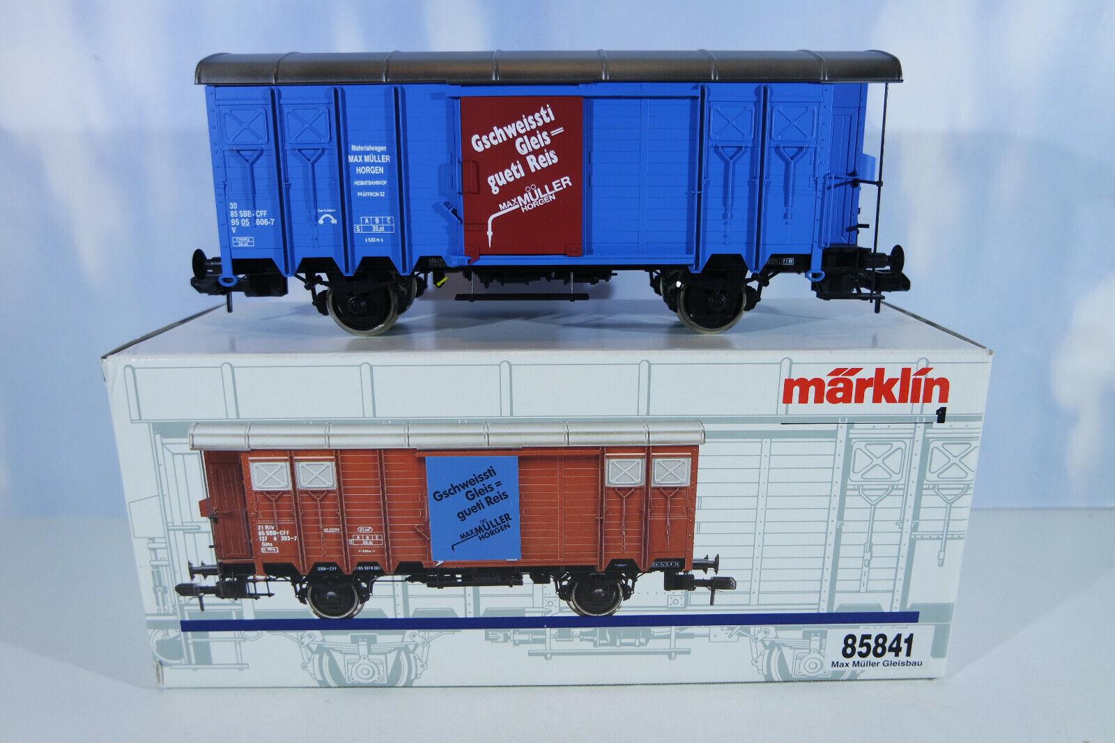 marklin traccia 1 85841 autoro merci SBB, raramente, staccato, OVP
