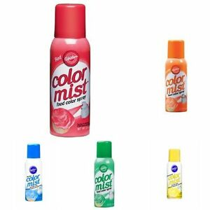 Wilton-Color-Mist-Food-Cake-Cupcake-Color-Sprays-1-5oz-Kosher-Many-Colors
