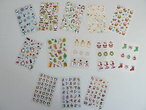 Fun-Christmas-Stickers-for-Kids-for-Craft-Card-Making-Decoration