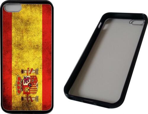funda carcasa dura para Iphone 5//5s bandera españa