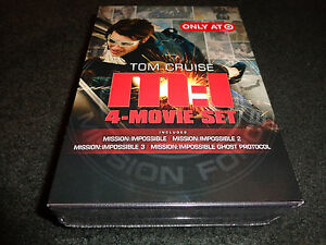 Details about MISSION:IMPOSSIBLE 4-Movie Set-MI 1 to 3 & GHOST  PROTOCOL-Spanish subtitles