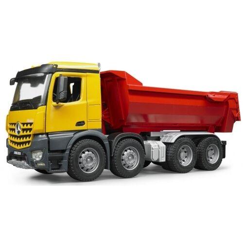 Bruder MB Arocs Halfpipe Kipp-LKW 03623 Baufahrzeug Baustelle Kinderspielzeug