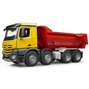 Brother Mb Arocs Dump halfpipe 03623 Véhicule de chantier, chantier, jouets pour enfants