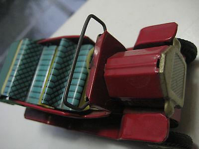 Befangen Verlegen Antik Blechspielzeug Lehmann Brandenburg Msb ? Tin Toy Car Ford Modell T? Selbstbewusst Unsicher Gehemmt