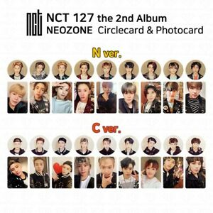 NCT127-2nd-Album-NCT-127-NEO-ZONE-Official-Photocard-Circle-card-KPOP-K-POP