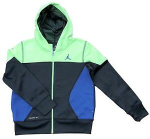 72029ceedd1a New Boys Nike Air Jordan Air Therma-Fit Zip Hoodie 852202-181 Size 4 ...