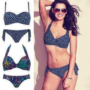 2c77c76058612 Image is loading Triumph-Painted-Leaves-Bikini-Top-Or-Bottoms-Womens