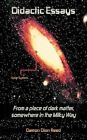 Didactic Essays: From a Piece of Dark Matter, Somewhere in the Milky Way? by Damon Dion Reed (Paperback / softback, 2012)
