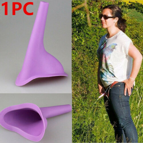 Female Womens Portable Urinal Urine Funnel Camping Travel Toilet Festival