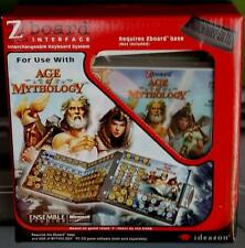 Steelseries / Ideazon Age of Mythology Keyset for Zboard / Shift keyboard - NEW