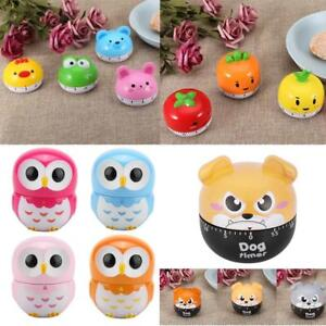 Details About Cute Cartoon Kitchen Timer Mechanical Timers Counters For Cooking Timing Tool