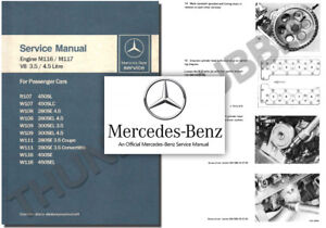 Mercedes-M116-M117-V8-Service-Workshop-Repair-Manual-w108-w109-w111-r107-w116