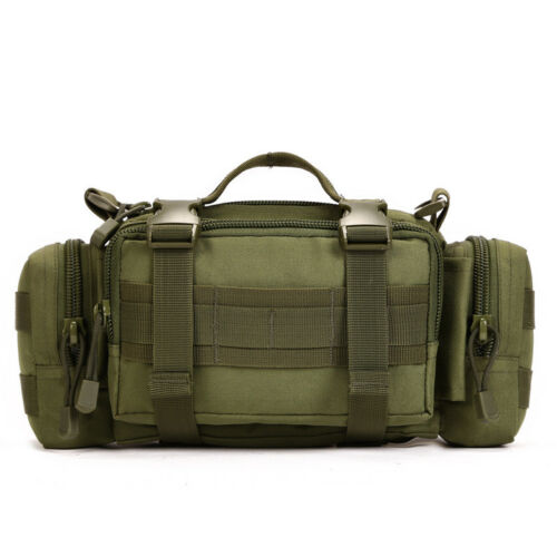New Tactical Waist Chest Pack Military Shoulder Messenger Molle Bag Pouch 3 ways