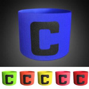 Sports Armband Player  Football Flexible Badge Captain Band  Soccer  Adjustable