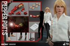 SIDESHOW HOT TOYS Marvel Pepper potts Iron man  tony stark  1/6th figure mms310