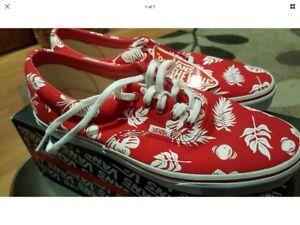 Tropicoco/ True Red Vans Uk Size 5.5