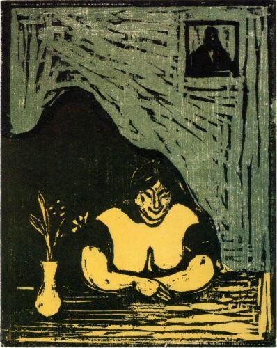 The Fat Whore Fine Art Print Edvard Munch Prints