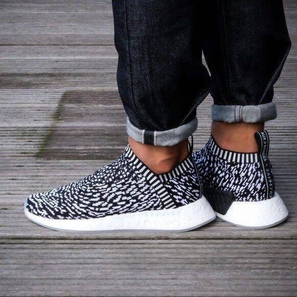 Adidas Men's NMD_CS2 Primeknit Sneakers Size 8