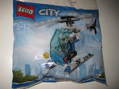 LEGO CITY 30351 HELICOPTERE POLICE NEUF 114
