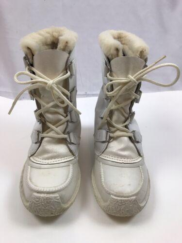 1980's Vintage White Sorel Chugalug Kaufman Wool L