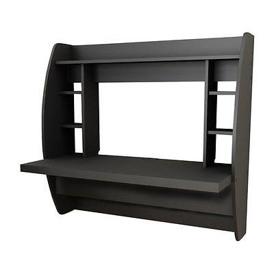 Prepac Furniture BEHW-0200-1 HW-0200-1 Floating Desk with Storage