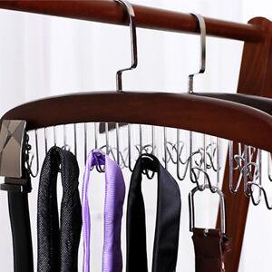 Cintre-De-Rangement-Pour-Vetements-Echarpe-Cravate-Ceinture-12-Crochets
