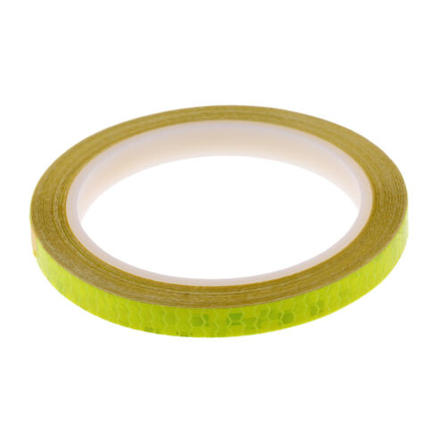Reflective Bike Wheel Rim Stickers Bicycle Cycling MTB Reflector Tape Decals