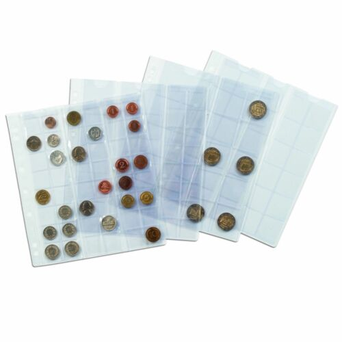 Album sheets for Coins Collection NUMIS NH48 Currency Pages Leuchtturm 301127