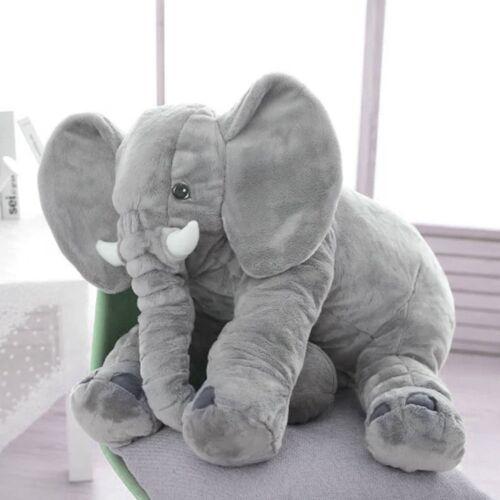 30//40//60cm Baby Large Soft Elephant Pillow Stuffed Plush Sleep Cuddly Toy Gifts