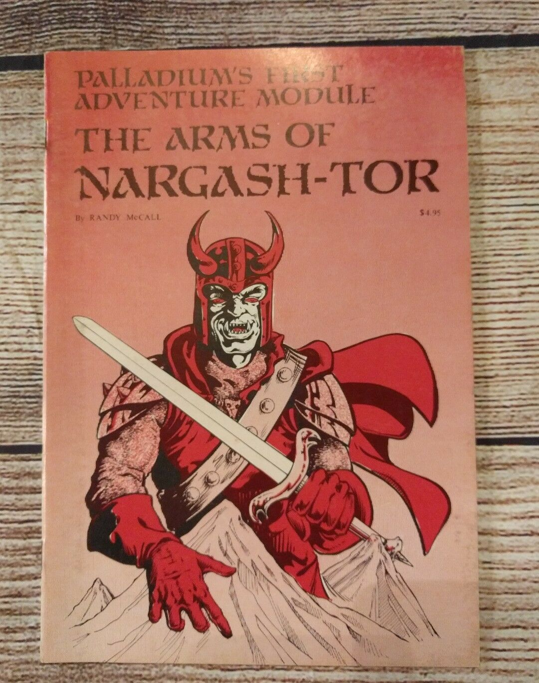 Arms of Nargash-Tor Palladium's First Adventure Module Roleplaying Game D&D 1984
