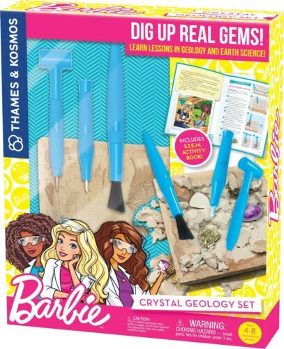 Barbie Crystal Geology Set Earth Science Thames & Kosmos 549010